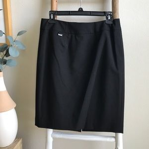 Calvin Klein Black Business Skirt